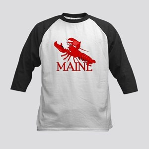 Maine Lobster Kids Baseball Jersey
