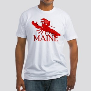 Maine Lobster Fitted T-Shirt