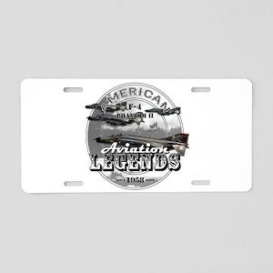 F-4 Phantom II Aluminum License Plate