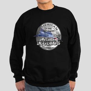 F-102 Delta Dagger Sweatshirt (dark)