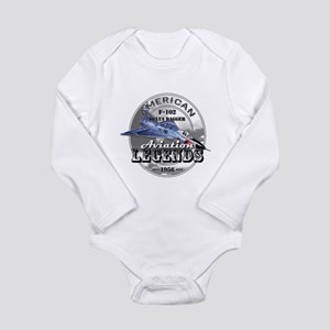 F-102 Delta Dagger Long Sleeve Infant Bodysuit