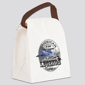 F-102 Delta Dagger Canvas Lunch Bag