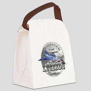 F-102 Delta Dagger Canvas Lunch Bag