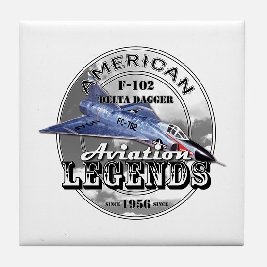 F-102 Delta Dagger Tile Coaster