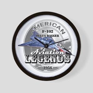 F-102 Delta Dagger Wall Clock