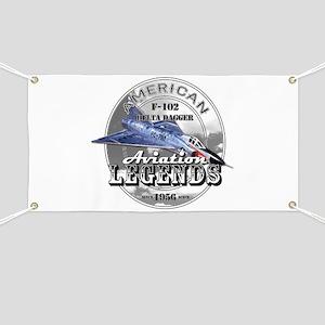 F-102 Delta Dagger Banner