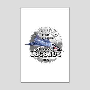 F-102 Delta Dagger Mini Poster Print