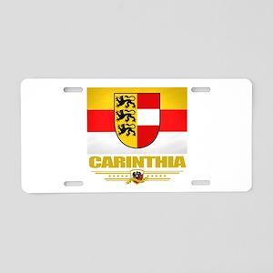 Carinthia (Flag 10) Aluminum License Plate