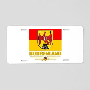 Burgenland (Flag 10) Aluminum License Plate