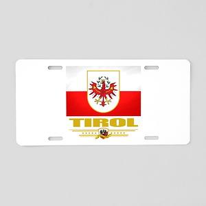 Tirol (Flag 10) Aluminum License Plate