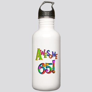 Awesome 65 Birthday Stainless Water Bottle 1.0L