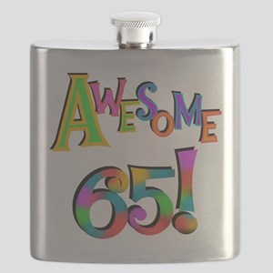 Awesome 65 Birthday Flask