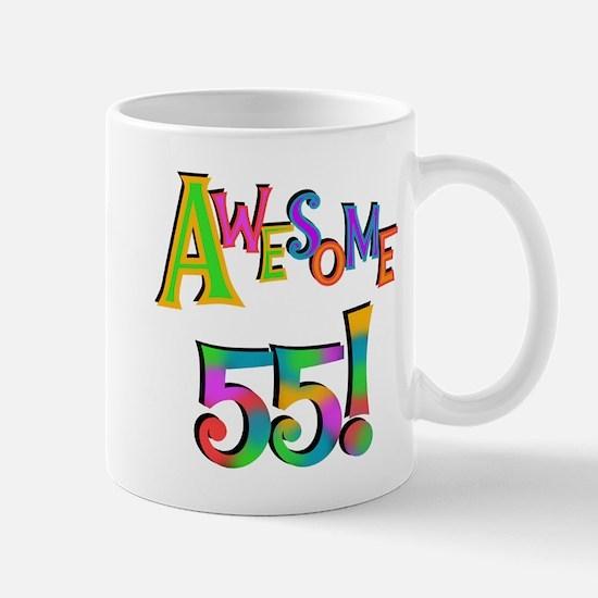 Awesome 55 Birthday Mug