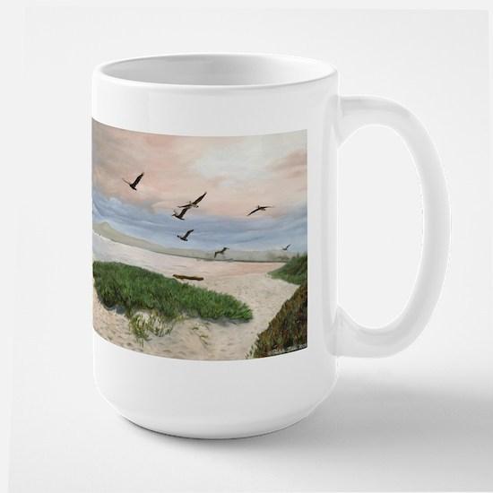 Half Moon Bay Painting Mugs
