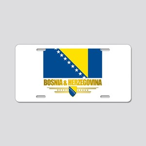 BosniaHerzegovina (Flag 10)2 Aluminum License