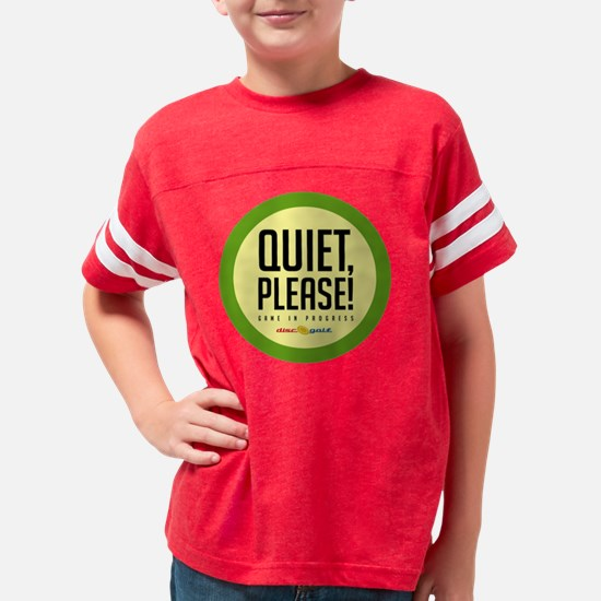 Quiet_round2 Youth Football Shirt