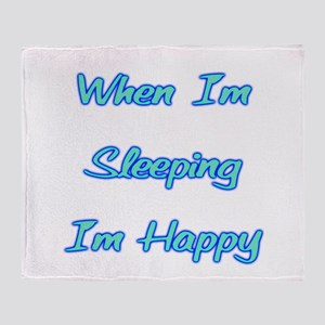 Sleeping Throw Blanket