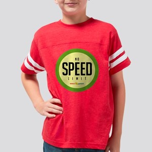 Speed limit Youth Football Shirt
