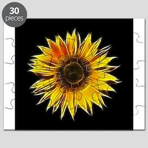 Fractal Sunflower Puzzle