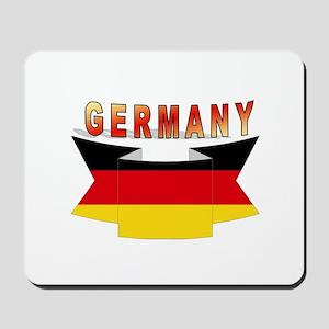 Germany flag Ribbon Mousepad