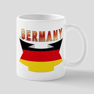 Germany flag Ribbon Mug