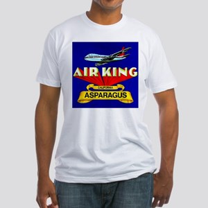 Air King Asparagus Fitted T-Shirt