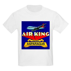 Air King Asparagus Kids T-Shirt