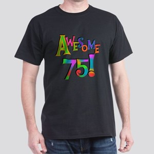 Awesome 75 Birthday T-Shirt