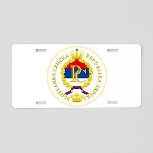 Srpska COA Aluminum License Plate