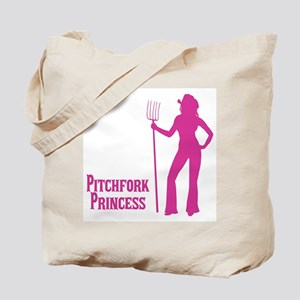 Pitchfork Princess, Sexy Cowgirl Tote Bag