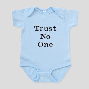 Trust No One (Black) Body Suit