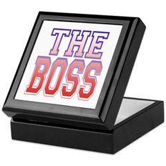 The Boss Keepsake Box