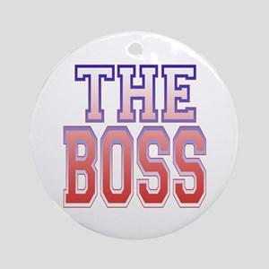 The Boss Ornament (Round)