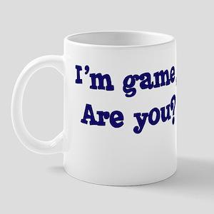 I'm game Mug