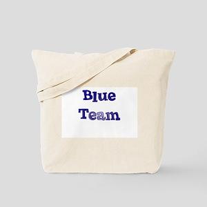 Blue Team Tote Bag
