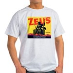 Zeus Brand Ash Grey T-Shirt