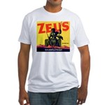 Zeus Brand Fitted T-Shirt