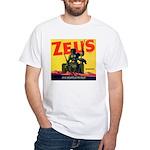 Zeus Brand White T-Shirt