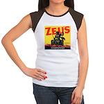 Zeus Brand Women's Cap Sleeve T-Shirt