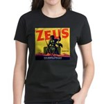Zeus Brand Women's Dark T-Shirt