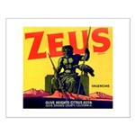 Zeus Brand Small Poster