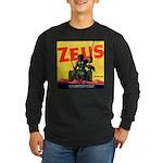 Zeus Brand Long Sleeve Dark T-Shirt