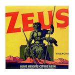 Zeus Brand Tile Coaster
