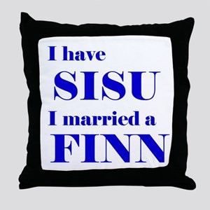 Sisu Spouse Throw Pillow