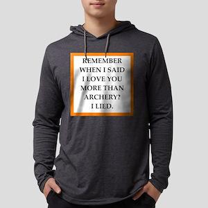 Archery Mens Hooded Shirt