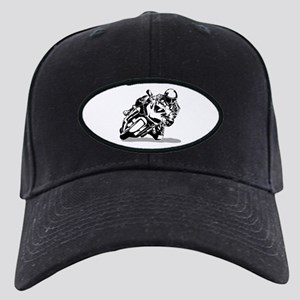 Sportbike Motorcycle Black Cap