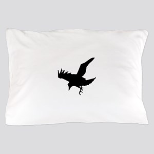 Black Eagle Silhouette Pillow Case