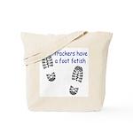 Foot Fetish Tote Bag
