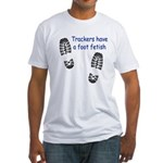 Foot Fetish Fitted T-Shirt
