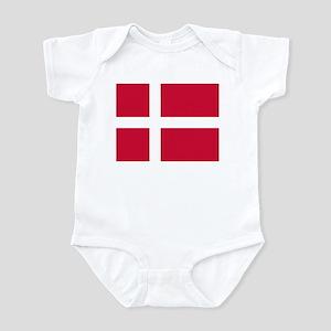 Flag of Denmark Infant Bodysuit